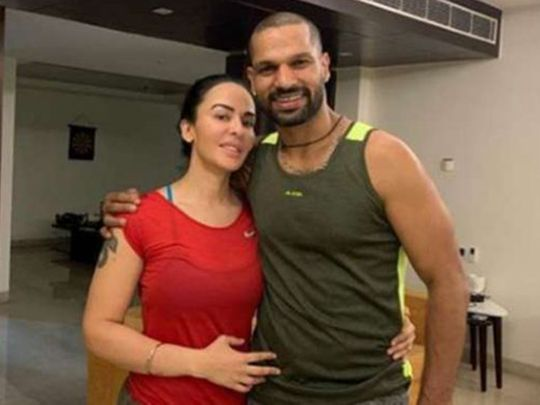 Cricket - Dhawan & Ayesha Mukherjee