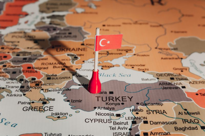 Located between the two continents of Asia and Europe, lies Turkey