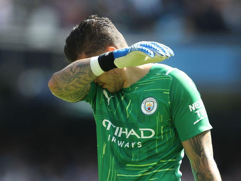Manchester City's Ederson