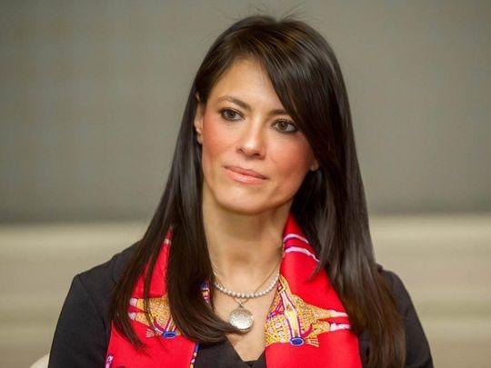 Stock - Rania Al-Mashat, Egypt's Minister of International Cooperation