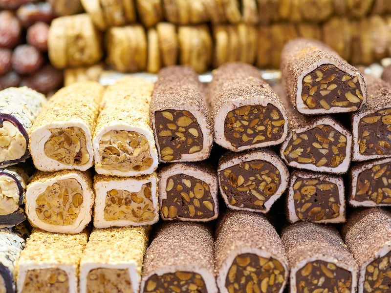 Turkish delight rolls or Sultan rolls