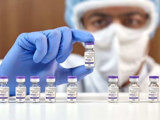 FIRST IN THE WORLD: ZyCoV-D, developed by India's Zydus Cadila, is the first DNA-based vaccine against COVID-19 authorised for human use.