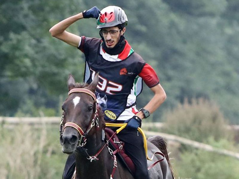 The UAE made history at the FEI CSI 4 Star World Endurance Championships for Young Riders and Juniors when Saeed Al Muhairi won the 120km ride