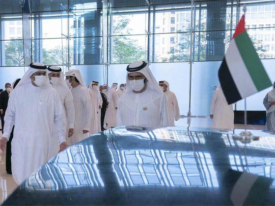 Sheikh meets COVID response teams