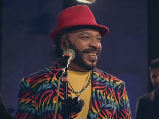 Sri Lankan singer Sunil Perera