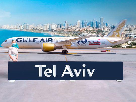 Stock - Gulf Air
