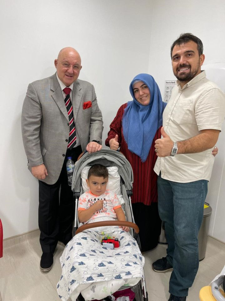 Dr Michael Weber Baby Mehmet and the Demirrezens-1631339032710