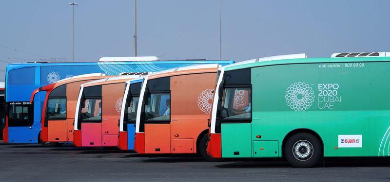Expo buses