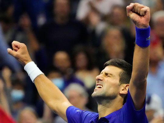 Novak Djokovic his US Open win over Alexander Zverev