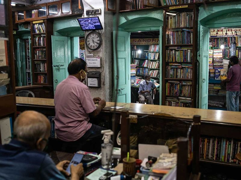 Book shop india kolkata tram