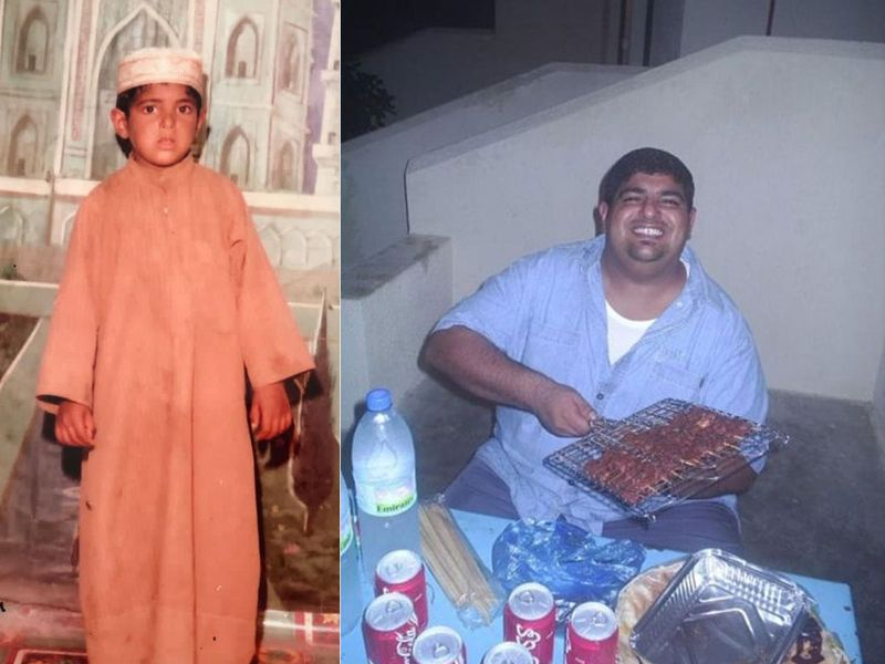 Chef Al Kaabi grew up in Hatta and always had a passion for cooking.