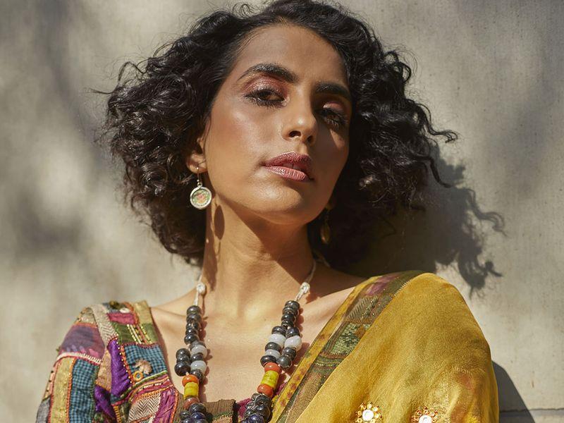 Designer Medha Bansal's creations