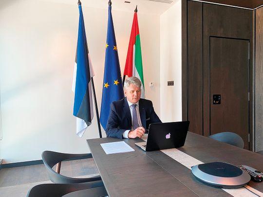 Jaan Reinhold Estonian Ambassador UAE