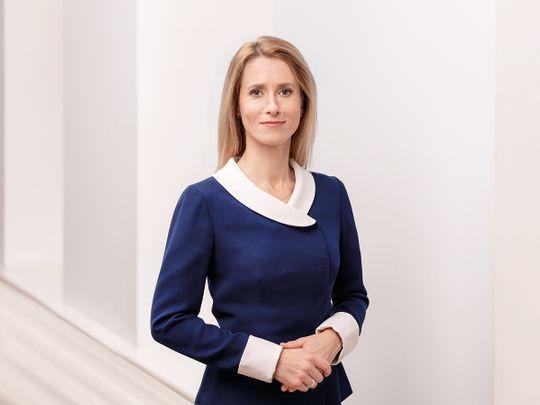 Kaja Kallas Prime Minister Estonia