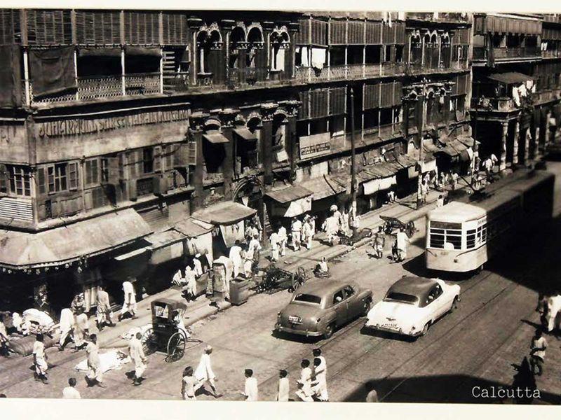 Kolkata tram india