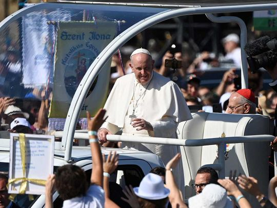Pope Francis Hungary