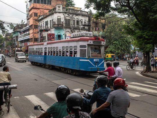 Tram kolkata india