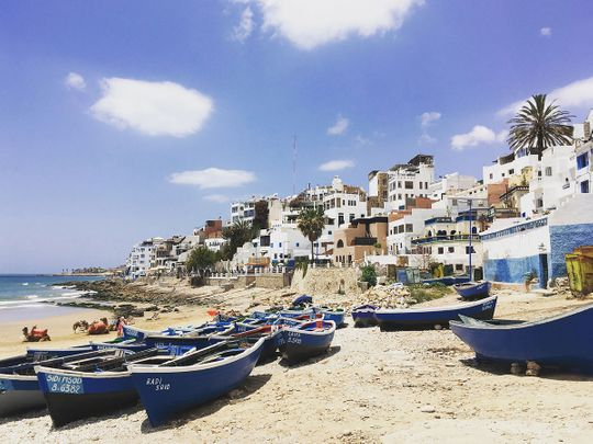 fishing village of Taghazout