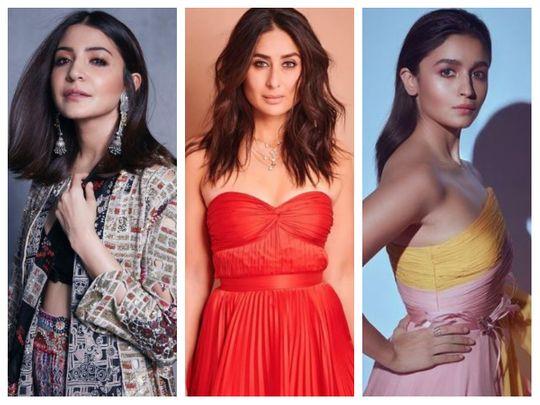 Anushka Sharma, Kareena Kapoor Khan, Alia Bhatt
