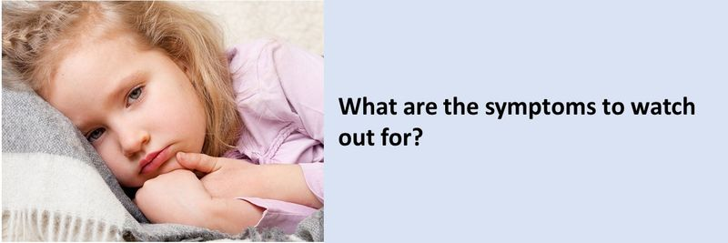 If your child is exhibiting any of the following symptoms, it could mean they have COVID-19.