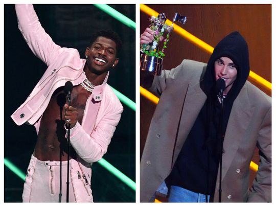 Lil Nas X and Justin Bieber
