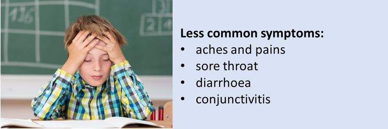 Not so common covid symptoms