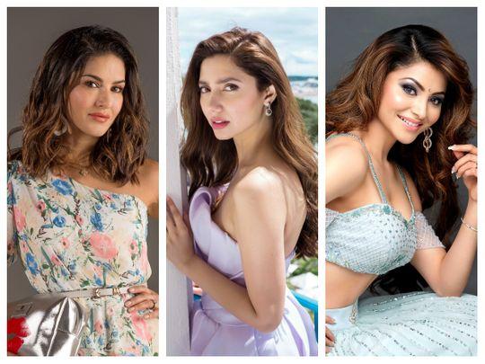 Sunny Leone, Mahira Khan, Urvashi Rautela