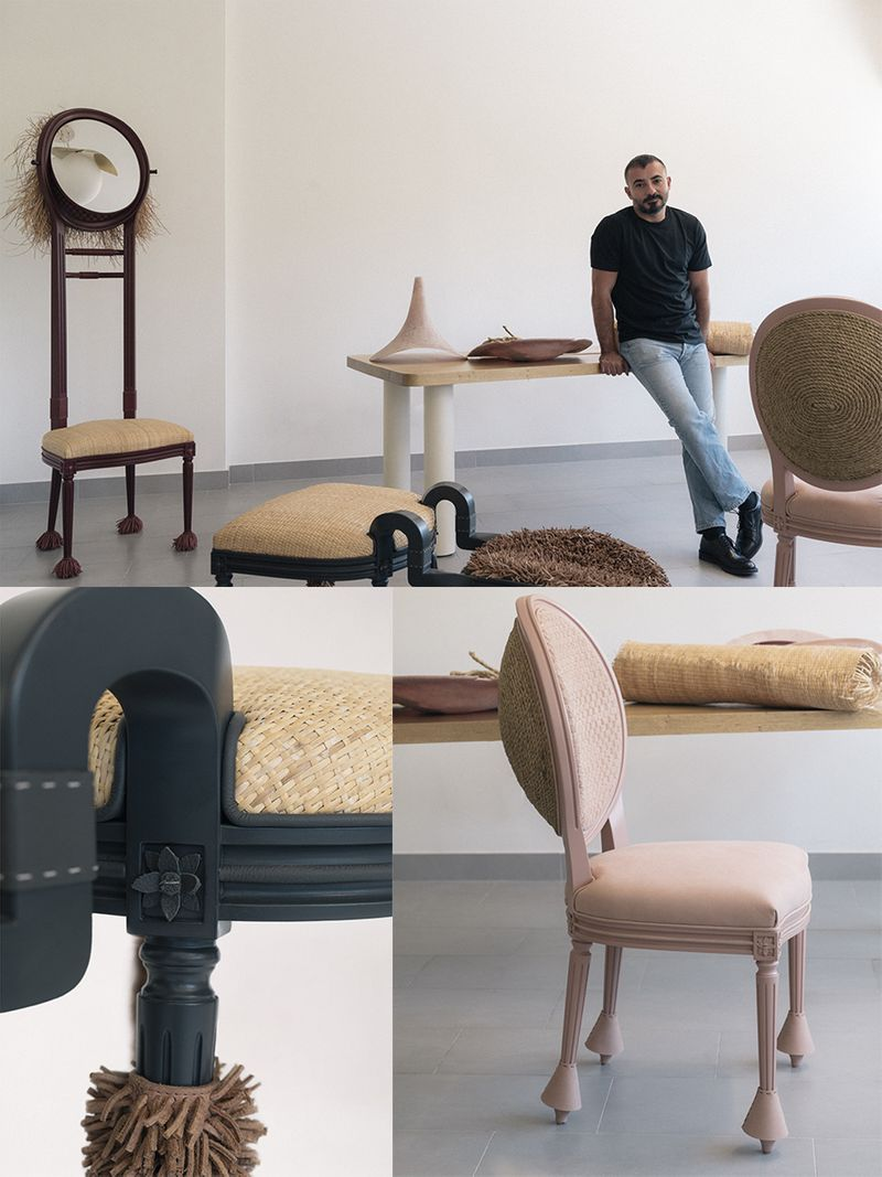 The Kurator Gulf News Dior Medallion Chair Khaled El Mays