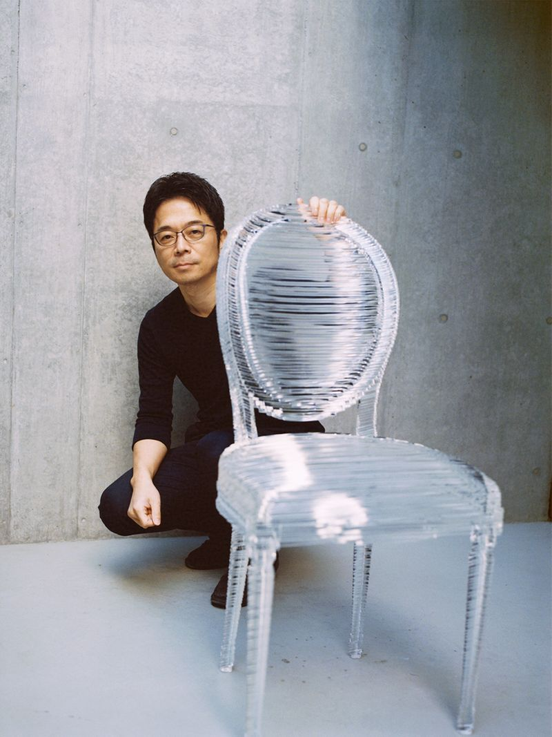 The Kurator Gulf News Dior Medallion Chair Tokujin Yoshioka