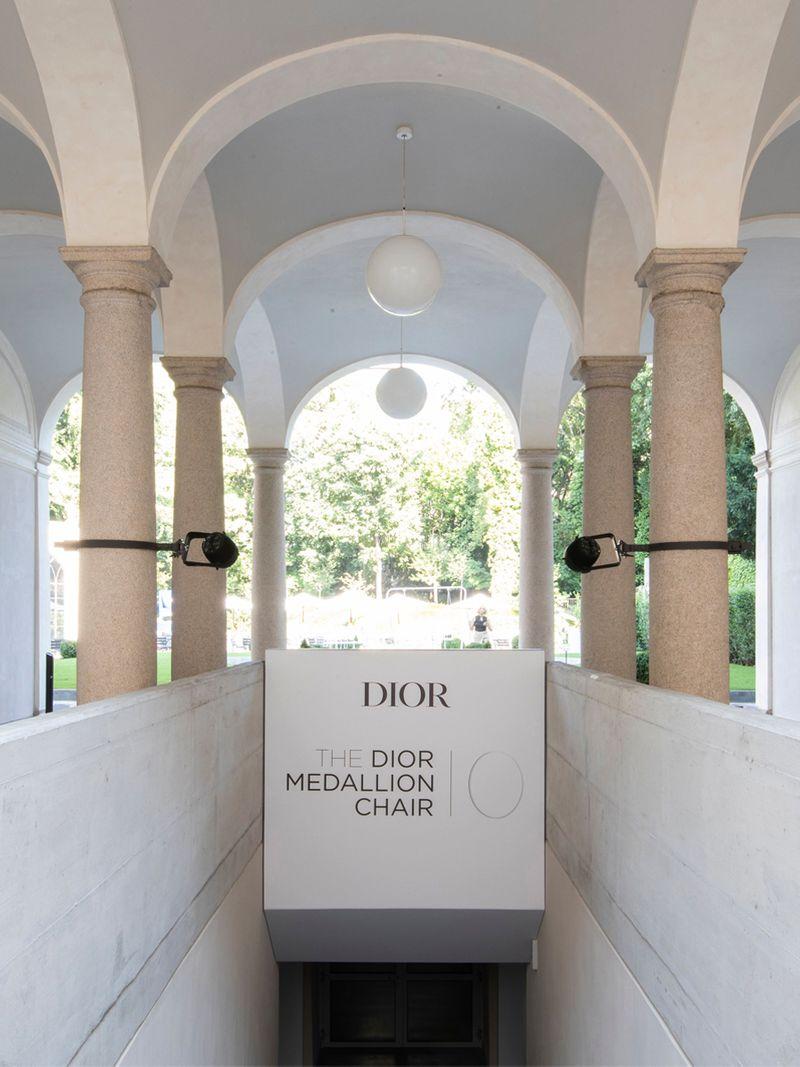 The Kurator Gulf News Dior Medallion Chair