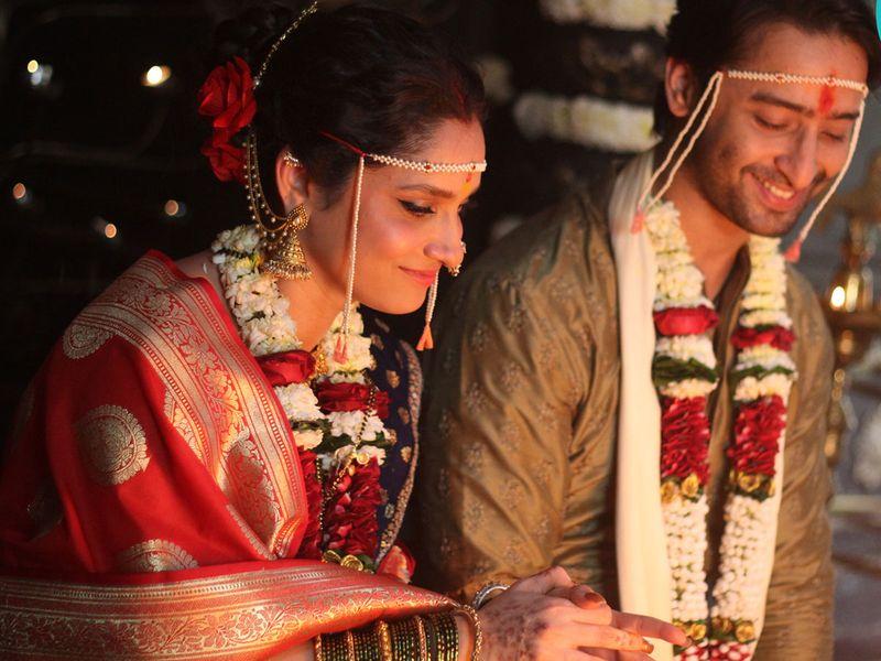 Ankita Lokhande and Saheer Sheikh in 'Pavitra Rishta 2'