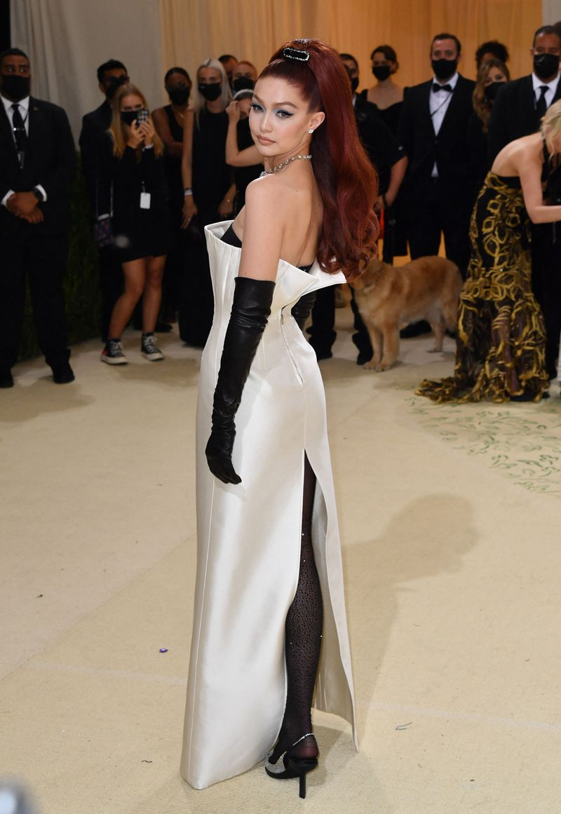 Gigi Hadid at the Met Gala 2021
