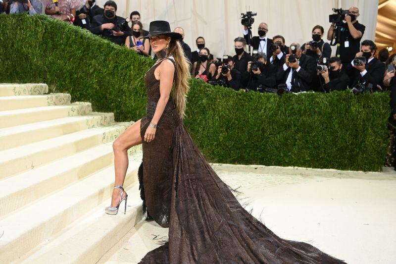 Jennifer Lopez at the Met Gala