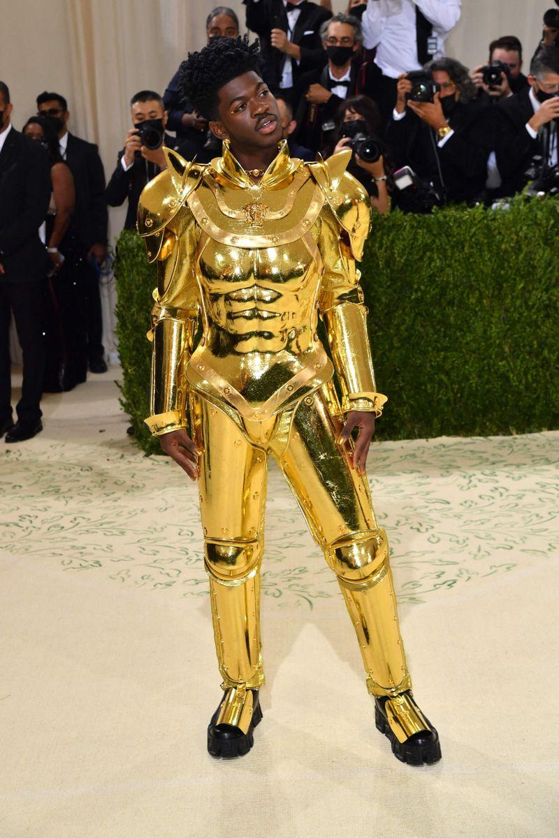 Lil Nas X at the Met Gala 2021