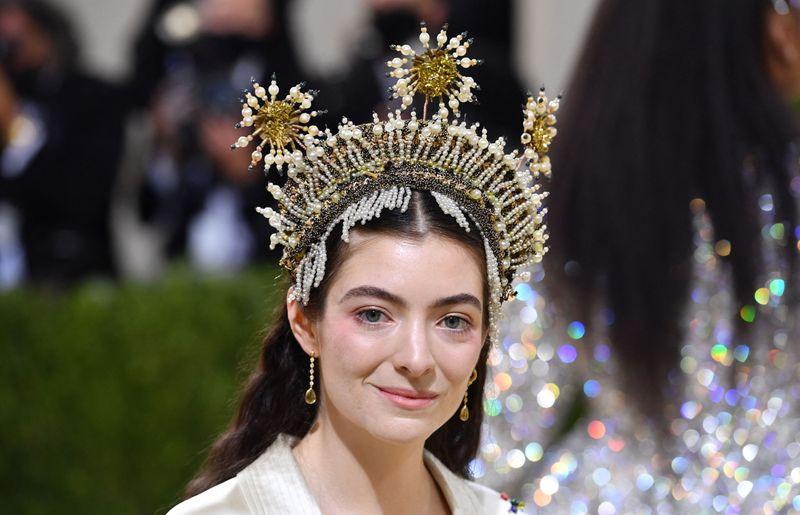 Lorde at the Met Gala 2021