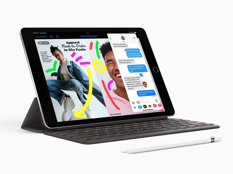 New 10-2-inch iPad