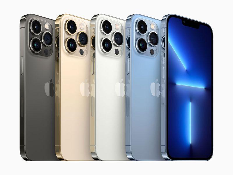 New iPhone 13 Pro