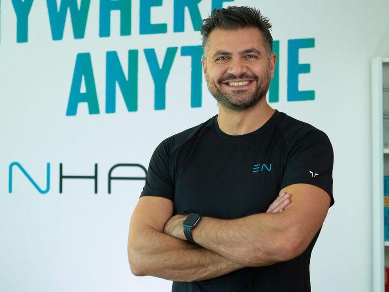 Tarek Mounir, CEO and founder of Enhance Fitness