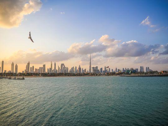 Dubai Skyline La Mer-1631720310593