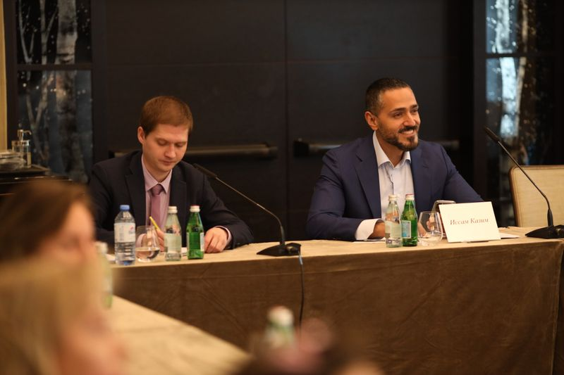 Issam Kazim, CEO of Dubai Tourism met with media and travel trade in Russia-1631720316242