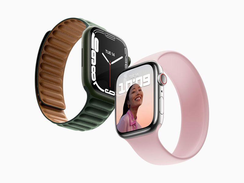 New Apple Watch series 7