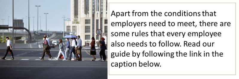 Apart from the conditions that employers need to meet, there are some rules that every employee also needs to follow. Read our guide by following the link in the caption below.