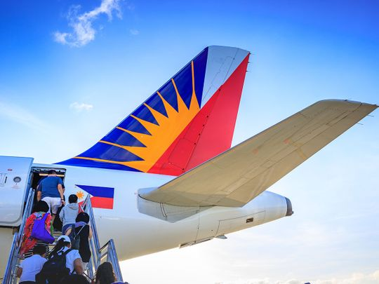 STOCK Philippines Airlines