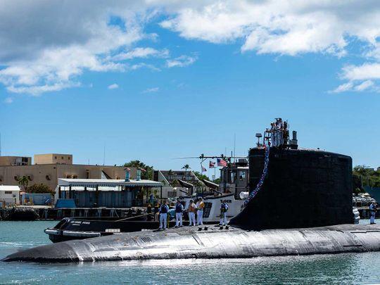 submarine US
