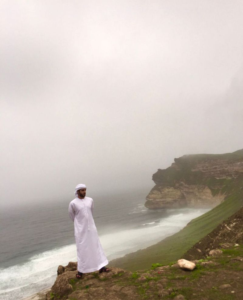 Ali Al Hosani touring sites and beaches in Oman 1-1631856222010