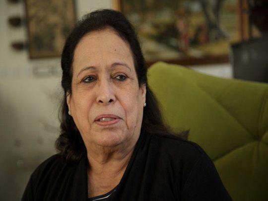 Kuwaiti actress Hayat Al Fahad
