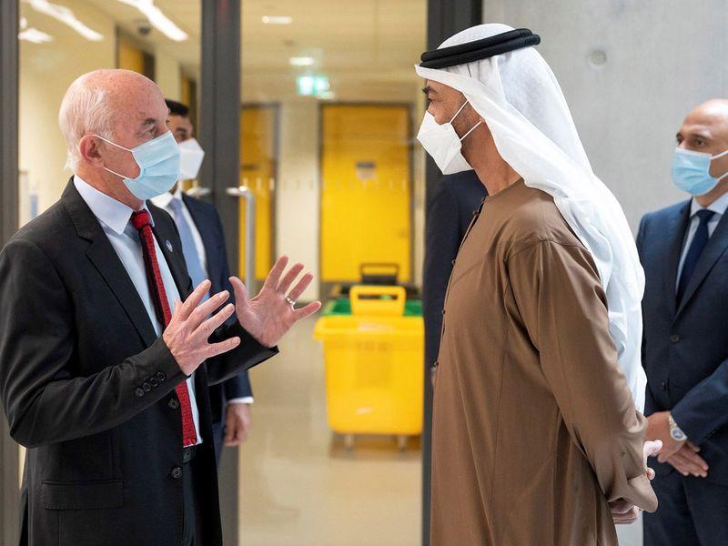 MBZ visit Zayed Centre London