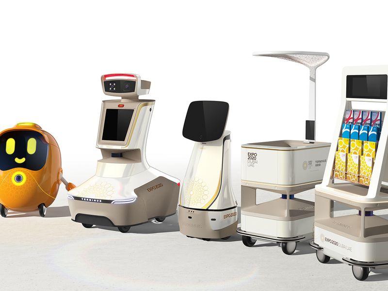 expo 2020 robots