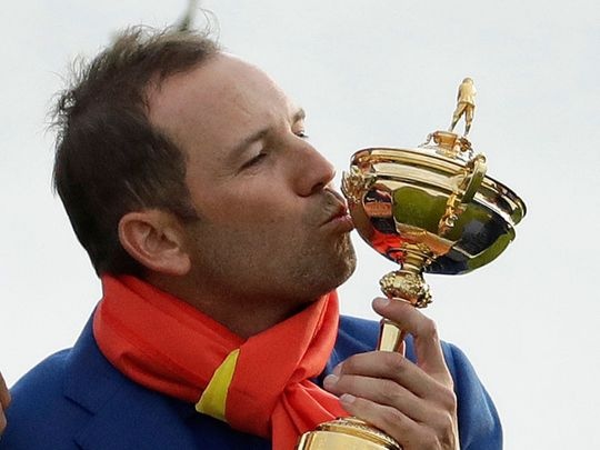 Sergio Garcia loves the Ryder Cup