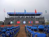 The 10-day long drills featured around 1,000 troops from the four countries. The exercise that concluded on September 15 was held at Chinese People's Liberation Army training base in Queshan county in the central province of Henan.
